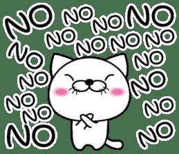 Too noisy cat Thai version sticker #8646669