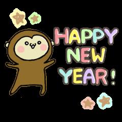 2016 NewYear Sticker