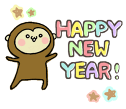 2016 NewYear Sticker sticker #8654546