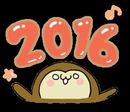 2016 NewYear Sticker sticker #8654560