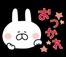 Message of rabbit new sticker #8655153