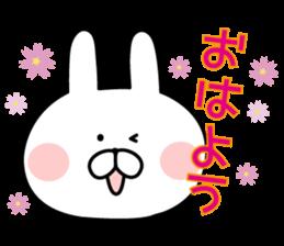 Message of rabbit new sticker #8655161