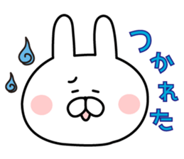 Message of rabbit new sticker #8655172