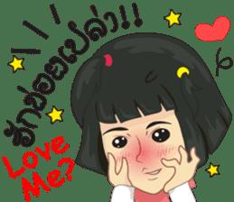 Cartoon Isan LoveV.Isan Eng language sticker #8656090