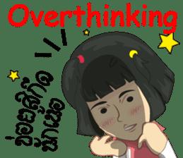Cartoon Isan LoveV.Isan Eng language sticker #8656095