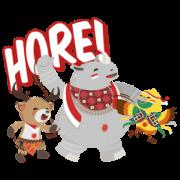 สติ๊กเกอร์ไลน์ Asian Games: Indonesian Independence Day