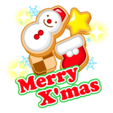 X'mas stickers -English- sticker #8658630