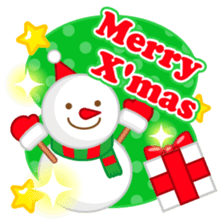 X'mas stickers -English- sticker #8658636
