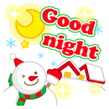 X'mas stickers -English- sticker #8658637