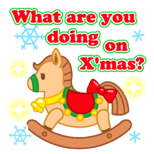 X'mas stickers -English- sticker #8658640
