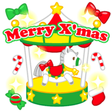 X'mas stickers -English- sticker #8658641