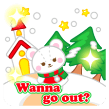 X'mas stickers -English- sticker #8658642