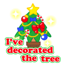 X'mas stickers -English- sticker #8658647