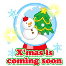 X'mas stickers -English- sticker #8658649