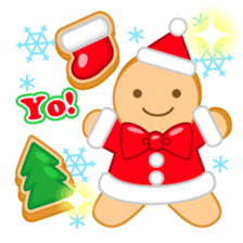 X'mas stickers -English- sticker #8658650