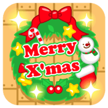 X'mas stickers -English- sticker #8658659