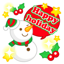 X'mas stickers -English- sticker #8658660