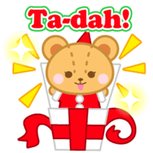 X'mas stickers -English- sticker #8658661