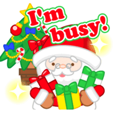 X'mas stickers -English- sticker #8658662