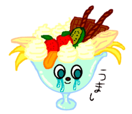 Cry emamouse Food sticker #8660034