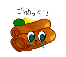 Cry emamouse Food sticker #8660044
