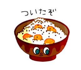 Cry emamouse Food sticker #8660049