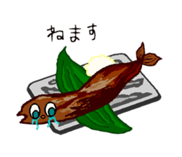 Cry emamouse Food sticker #8660051