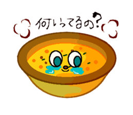Cry emamouse Food sticker #8660057