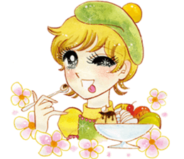 Hoshipoem girl cartoon Sticker2 sticker #8665234