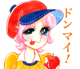 Hoshipoem girl cartoon Sticker2 sticker #8665237