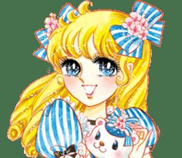 Hoshipoem girl cartoon Sticker2 sticker #8665239