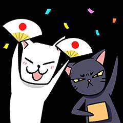 KURO and SHIRO daily life 2