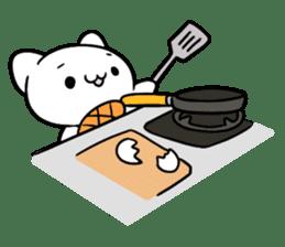 Kawaii kitten Sticker sticker #8672343