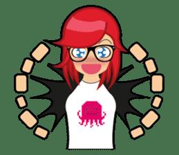 Sakura the Gamer Girl sticker #8686569