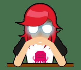 Sakura the Gamer Girl sticker #8686588