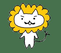 Hawaii neko(cat) sticker #8692127