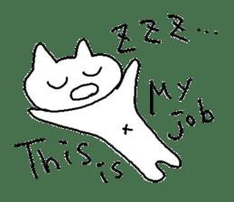 Hawaii neko(cat) sticker #8692133