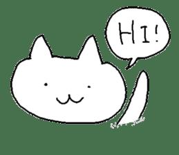 Hawaii neko(cat) sticker #8692137