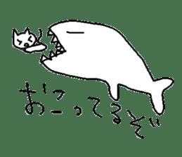 Hawaii neko(cat) sticker #8692141