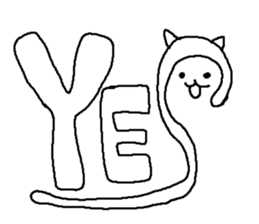 Hawaii neko(cat) sticker #8692149