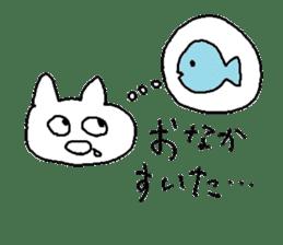Hawaii neko(cat) sticker #8692150