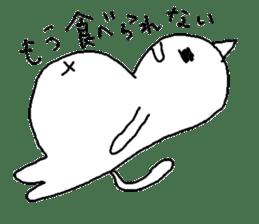 Hawaii neko(cat) sticker #8692152