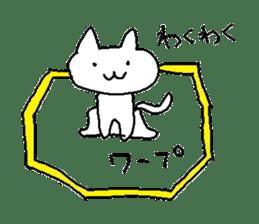 Hawaii neko(cat) sticker #8692154