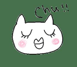Hawaii neko(cat) sticker #8692156