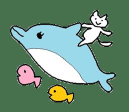 Hawaii neko(cat) sticker #8692157
