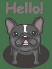 Raven the French Bulldog sticker #8695922