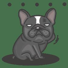 Raven the French Bulldog sticker #8695925