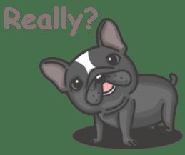 Raven the French Bulldog sticker #8695926
