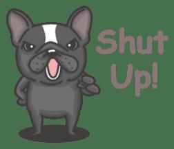 Raven the French Bulldog sticker #8695927