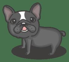 Raven the French Bulldog sticker #8695928